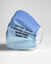 Hotter than a hoochie coochie Cloth face mask aos-face-mask-lifestyle-21