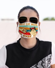 Best Cat Mum Ever Cloth face mask aos-face-mask-lifestyle-02
