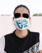 Love my car Cloth face mask aos-face-mask-lifestyle-02