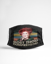 Dost Thou Comprehend Cloth face mask aos-face-mask-lifestyle-22