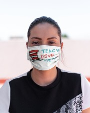 LH Teach love inspire Cloth face mask aos-face-mask-lifestyle-03