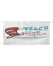 LH Teach love inspire Cloth face mask front