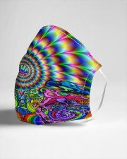 Psychedelic rock 2 Cloth face mask aos-face-mask-lifestyle-21
