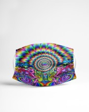 Psychedelic rock 2 Cloth face mask aos-face-mask-lifestyle-22