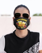 National beer day Cloth face mask aos-face-mask-lifestyle-02