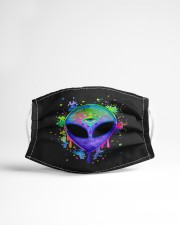 Splatter Alien Cloth face mask aos-face-mask-lifestyle-22