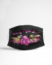 Nobody Fights Alone Cloth face mask aos-face-mask-lifestyle-22