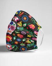 Sugarskull Cloth face mask aos-face-mask-lifestyle-21