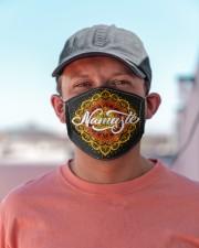 Namaste Mandala Cloth face mask aos-face-mask-lifestyle-06
