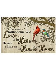 LH Heaven In Our Home 17x11 Poster front