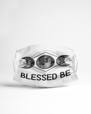 Goddess Blessed Be Cloth face mask aos-face-mask-lifestyle-22