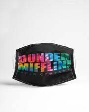 Dunder Mifflin tie dye Cloth face mask aos-face-mask-lifestyle-22
