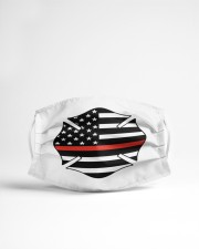 Fire Dept Badge Cloth face mask aos-face-mask-lifestyle-22
