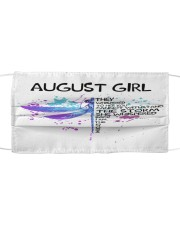 August Girl Cloth face mask front