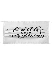 Faith over everything Cloth face mask front