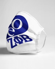 Love Zeta Phi Beta Cloth face mask aos-face-mask-lifestyle-21