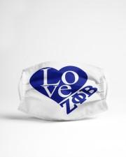 Love Zeta Phi Beta Cloth face mask aos-face-mask-lifestyle-22