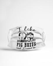 I Like Pig Butts Cloth face mask aos-face-mask-lifestyle-22