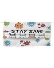LH Stay Safe Dog Cloth face mask front
