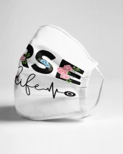 Nurse Life Cloth face mask aos-face-mask-lifestyle-21