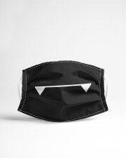 Vampire Fangs Cloth face mask aos-face-mask-lifestyle-22