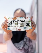 LH Stay Safe Cat Cloth face mask aos-face-mask-lifestyle-07