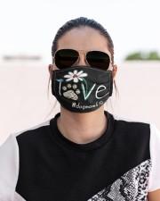 Love Dog Mom Life Cloth face mask aos-face-mask-lifestyle-02