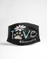 Love Dog Mom Life Cloth face mask aos-face-mask-lifestyle-22