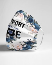 I support those in blue Cloth face mask aos-face-mask-lifestyle-21