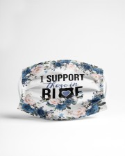 I support those in blue Cloth face mask aos-face-mask-lifestyle-22