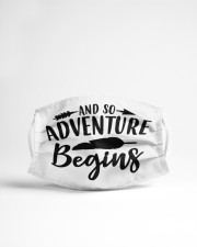 And so adventure begins Cloth face mask aos-face-mask-lifestyle-22