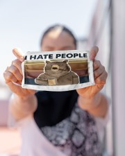 LH I Hate People Cloth face mask aos-face-mask-lifestyle-07