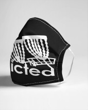 Disc Golf Addicted Cloth face mask aos-face-mask-lifestyle-21