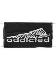 Disc Golf Addicted Cloth face mask front