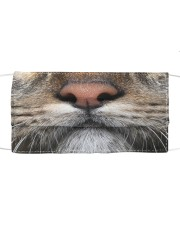 Cat mouth Cloth face mask front