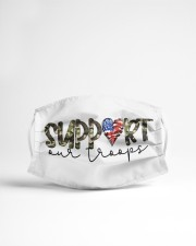 Support our troops Cloth face mask aos-face-mask-lifestyle-22