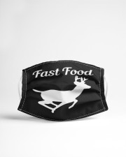 Fast food Cloth face mask aos-face-mask-lifestyle-22