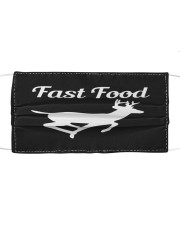 Fast food Cloth face mask front
