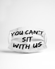 LH You Can't Sit With Us Cloth face mask aos-face-mask-lifestyle-22