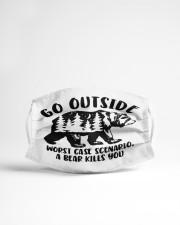 Go Outside Cloth face mask aos-face-mask-lifestyle-22