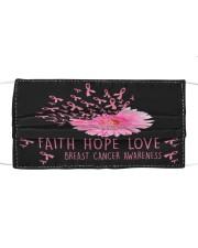 LH Faith Hope Love Cloth face mask front