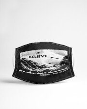 UFO believe Cloth face mask aos-face-mask-lifestyle-22
