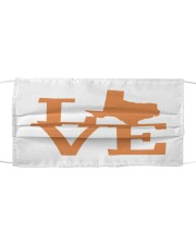 TEXAS LOVE Cloth face mask front