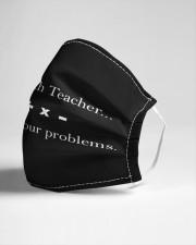 Math Teacher Cloth face mask aos-face-mask-lifestyle-21