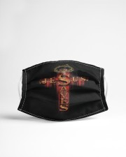 LH Jesus Saves Cloth face mask aos-face-mask-lifestyle-22