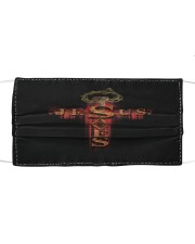 LH Jesus Saves Cloth face mask front