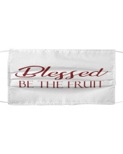 Blessed be the fruit Cloth face mask front