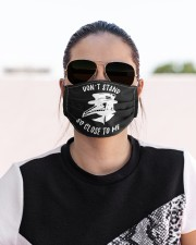 Dont stand so close to me Cloth face mask aos-face-mask-lifestyle-02