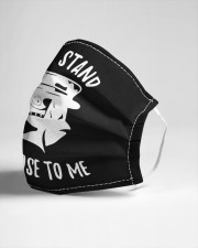 Dont stand so close to me Cloth face mask aos-face-mask-lifestyle-21