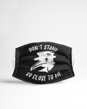 Dont stand so close to me Cloth face mask aos-face-mask-lifestyle-22
